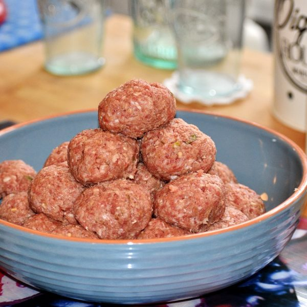 Spanish chorizo meatballs