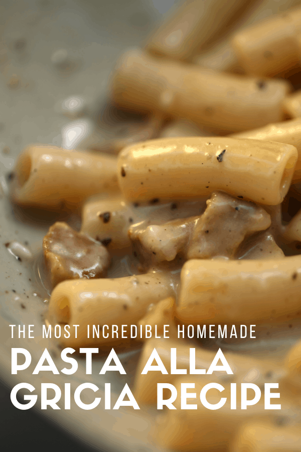 One of my favorite authentic recipes from Rome is pasta alla gricia. I recently had the inspiration to make this traditional dish at home, and I'm so happy with how it turned out! Give it a try if you want a simple yet delicious dinner for families or to share with your special someone. Just don't forget the red wine to wash it down!
