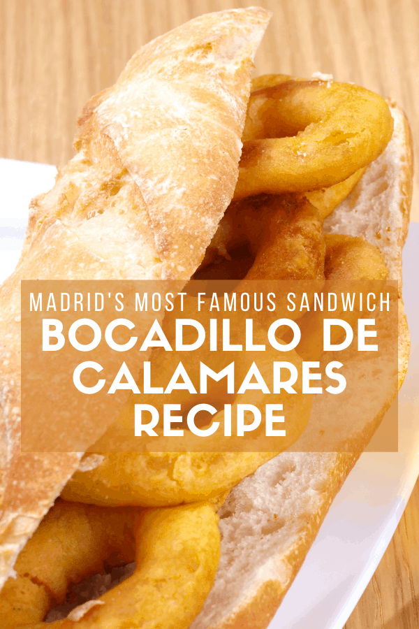 Despite being landlocked, Madrid is home to some of the best seafood in Spain! Even some of our best signature dishes, like the bocadillo de calamares or fried calamari sandwich, are based around it. Try this recipe for a quick and easy madrileño snack or meal.