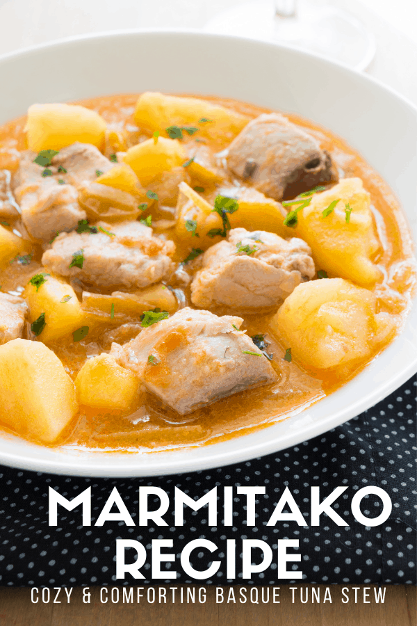 I'm obsessed with the seafood in Spain, and the Basque Country has some of the best. This marmitako (typical Basque tuna stew) combines it with bright, healthy veggies and other local products to create an easy and memorable meal. Try my recipe and let me know what you think!
