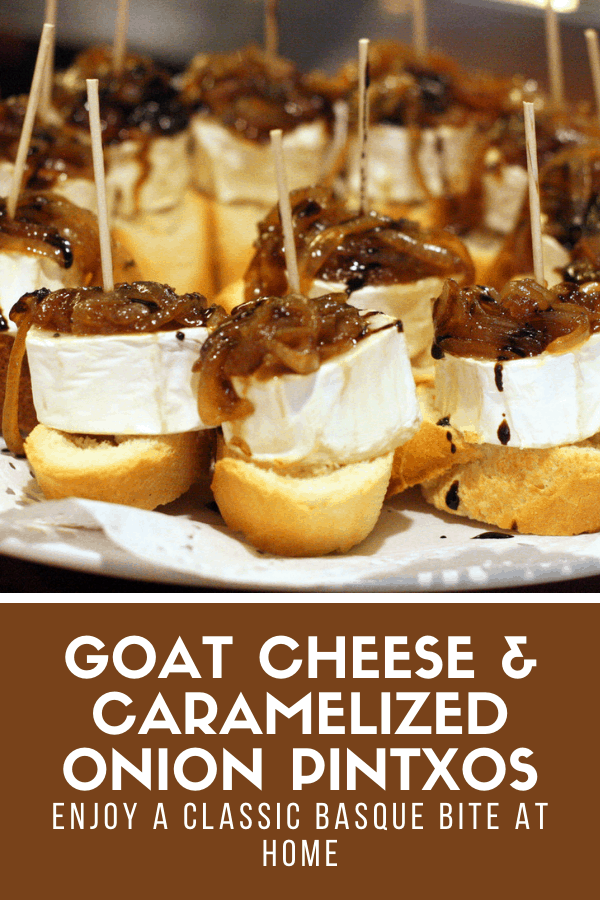 Goat cheese and caramelized onion is a match made in heaven, and the basis for this simple but amazing tapa. Perfect for vegetarians who want a taste of Spain without the meat, or for anyone looking for a quick and easy appetizer! Check out my recipe and let me know what you think!