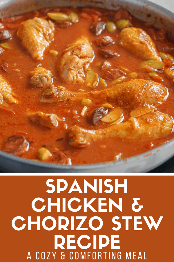 Chorizo is one of my favorite typical products from Spain, and it lends such incredible flavor to this chicken dish. It's a great simple dinner for families and incredibly healthy and flavorful. You can make it all in one pot, and it's hearty enough to fill you up while still leaving room for dessert!