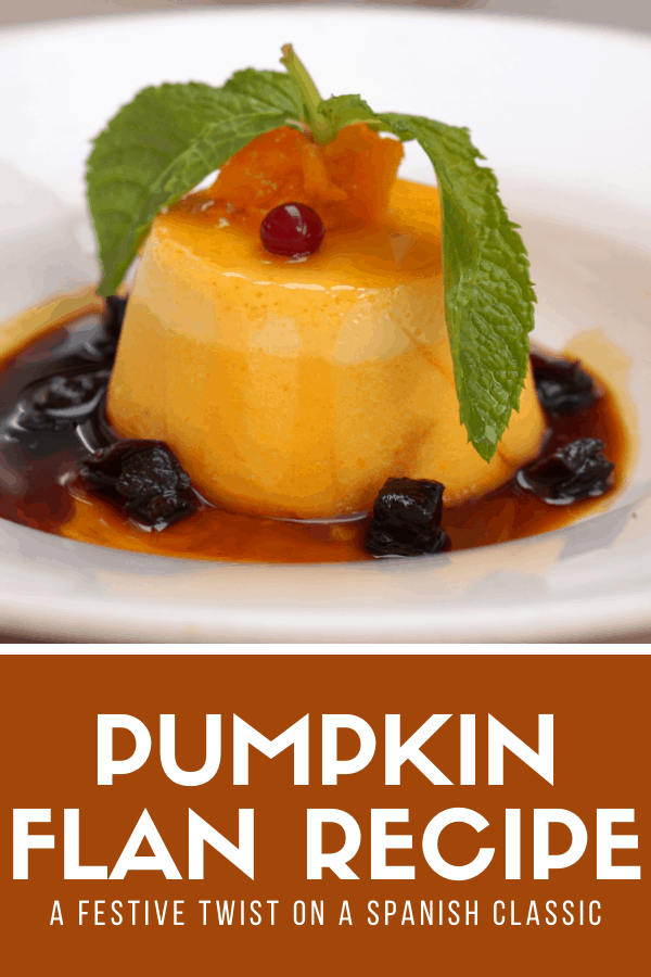Traditional Spanish flan is one of the most classic dessert recipes from Spain out there. But now that the festive season is upon us, why not take it to the next level? This pumpkin flan recipe is the perfect way to cap off a holiday-themed tapas party. I hope you enjoy!