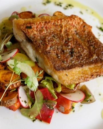 pan-fried codfish