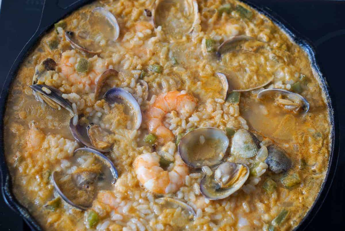 Seafood Rice Recipe (Arroz Caldoso)