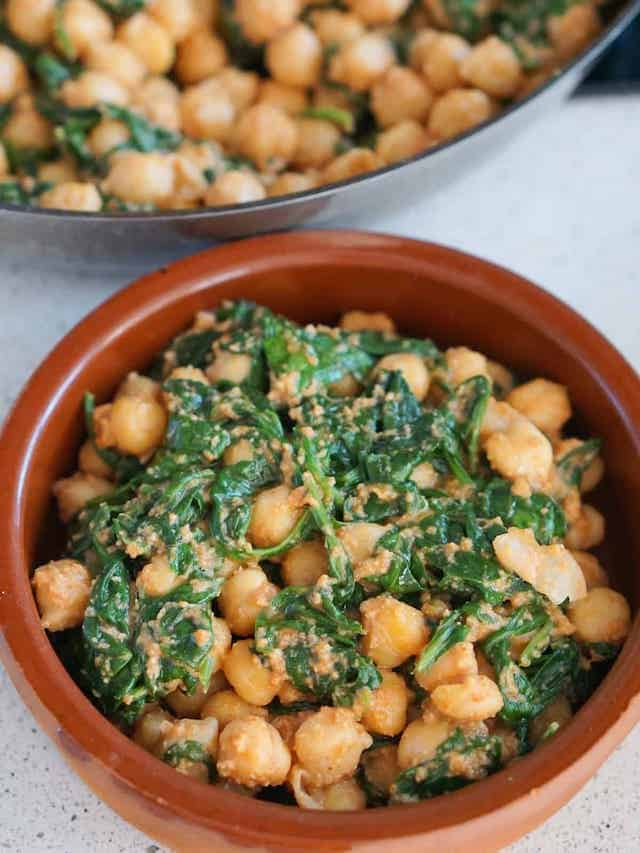 Spinach and Chickpeas